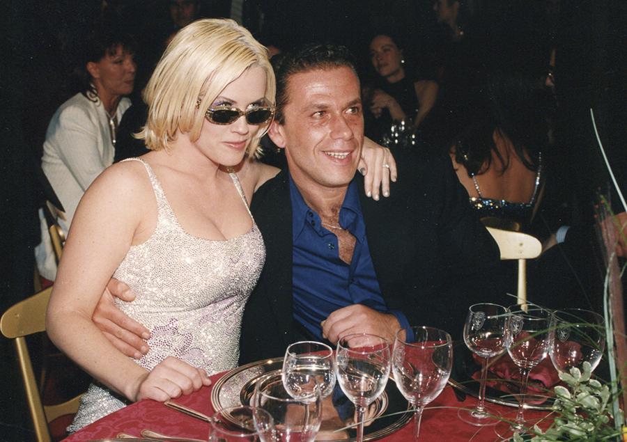Jenny Mccarhy e Gai Mattiolo a cena insieme
