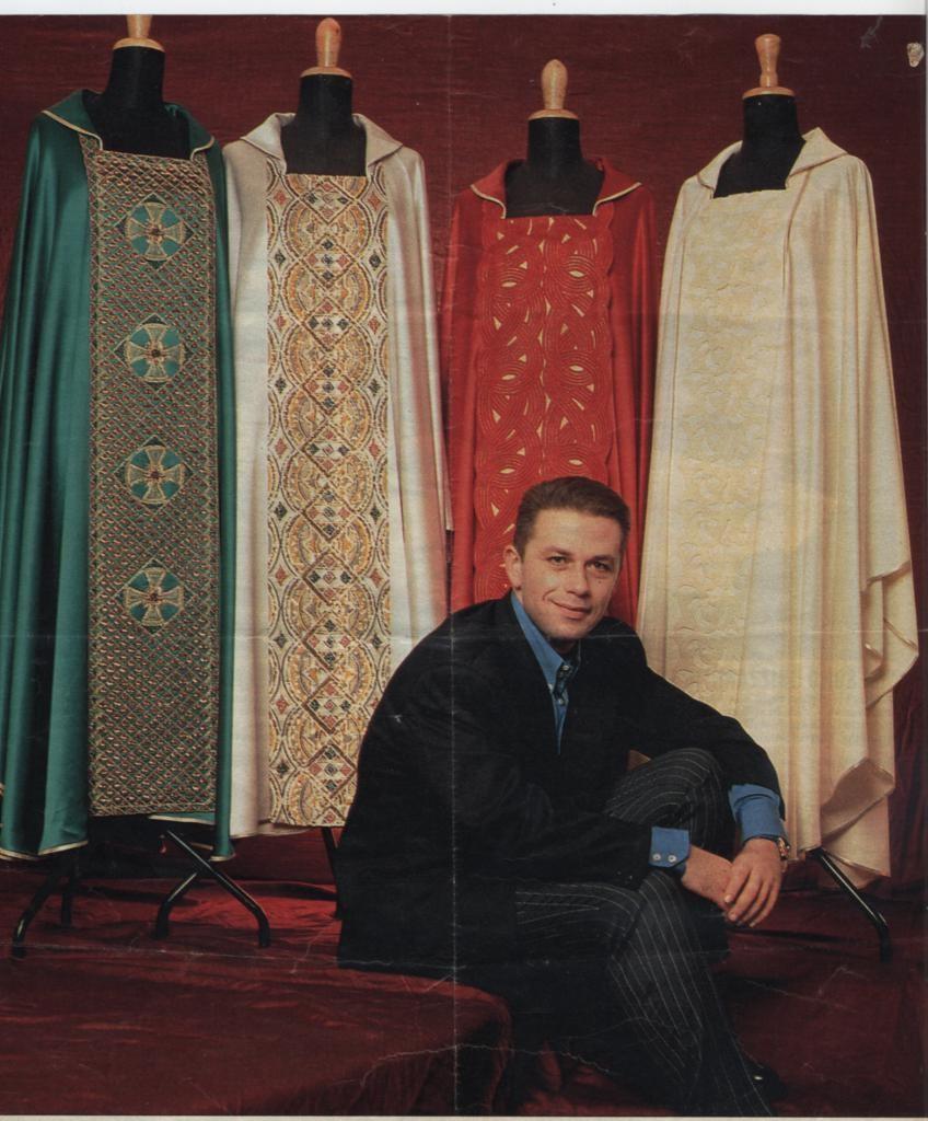 Le casule Gai Mattiolo per S.SS.Giovanni Paolo II