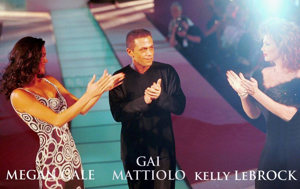 Gai Mattiolo Megan Gale e Kelly Lebrock