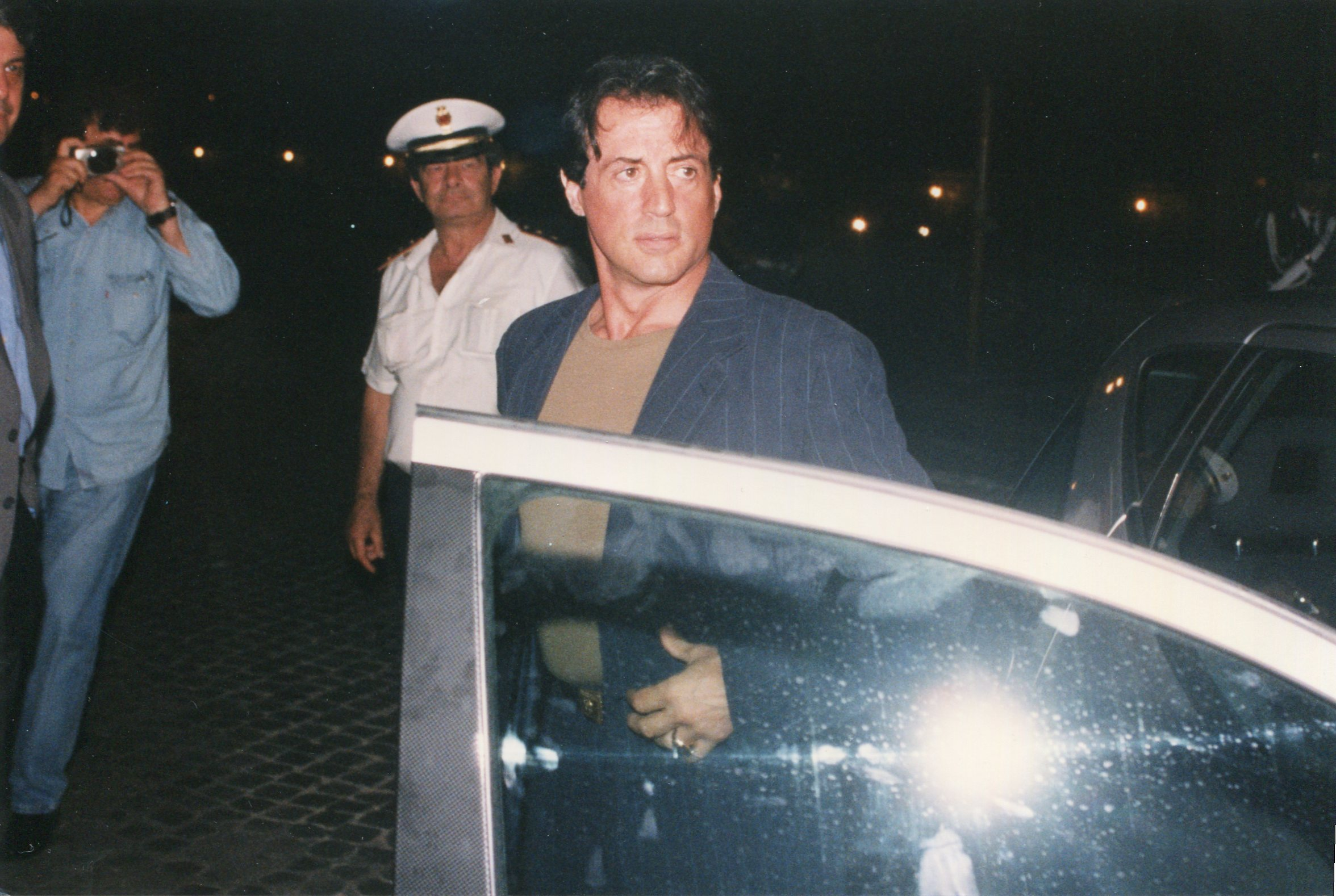Sylvester Stallone in Gai Mattiolo