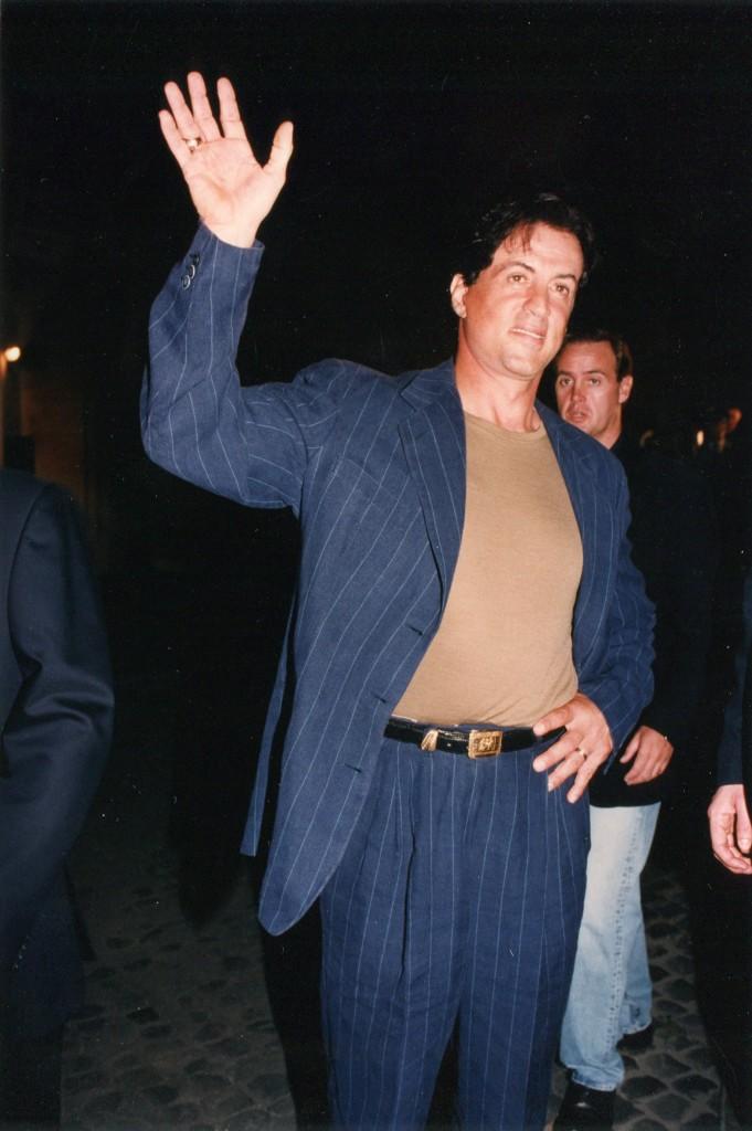 Sylvester Stallone indossa Gai Mattiolo
