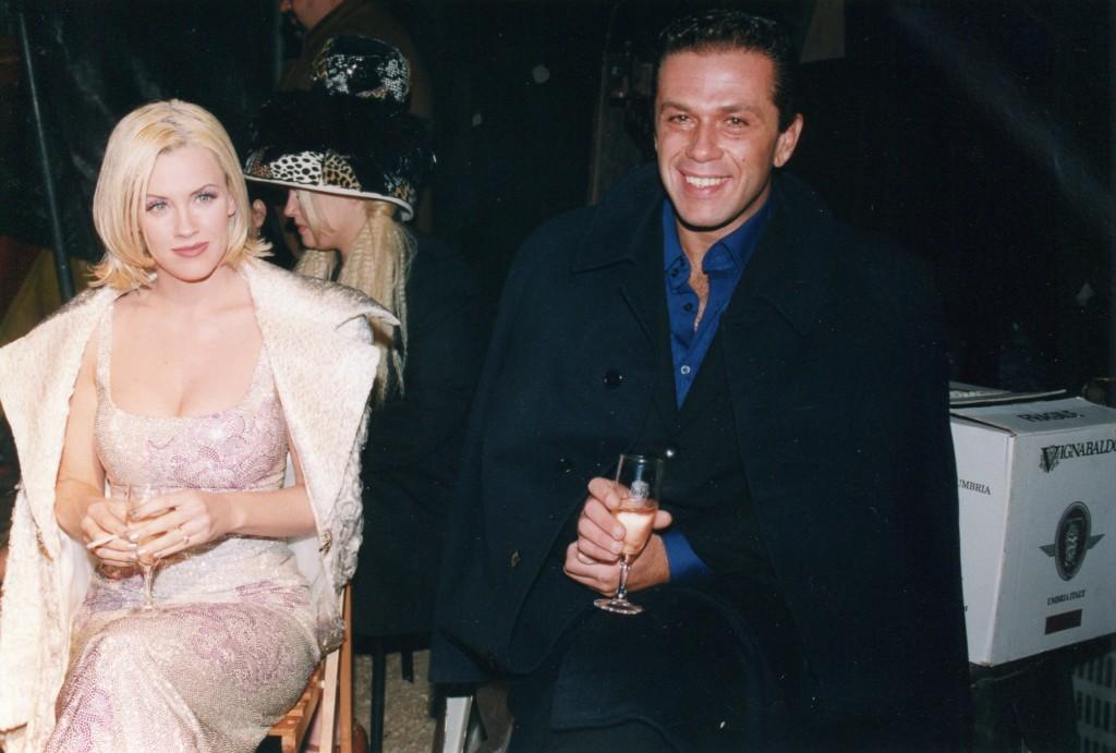 Jenny McCarthy insieme a Gai Mattiolo