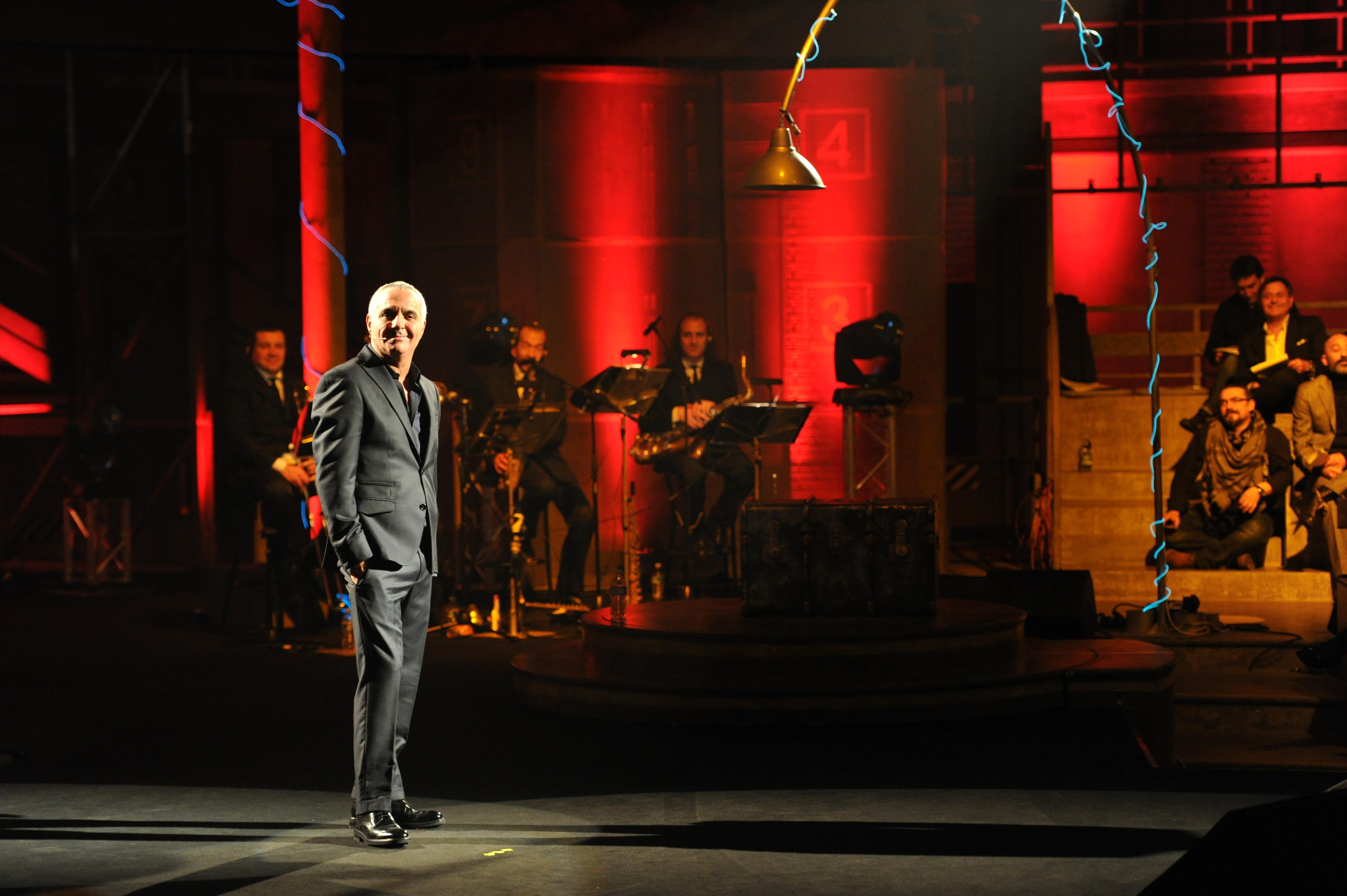 Giorgio Panariello veste Gai Mattiolo